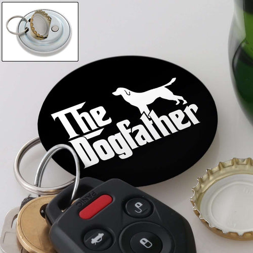 Designs by MyUtopia Shout Out:The Dog Father Magnetic Key chain and bottle opener
