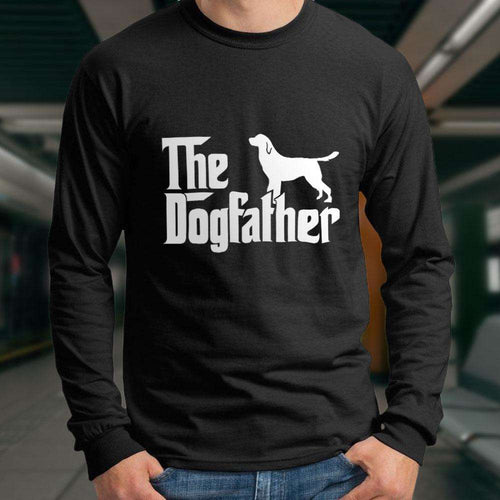 Designs by MyUtopia Shout Out:The Dog Father Ultra Cotton Long Sleeve Unisex T-Shirt