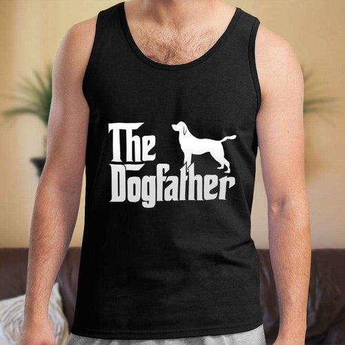 Designs by MyUtopia Shout Out:The Dog Father Unisex Tank Top