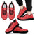 Designs by MyUtopia Shout Out:Timey Wimey Dalek Terms Running Shoes,Mens Black Sole / Mens US5 (EU38) / Red,Running Shoes