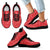 Designs by MyUtopia Shout Out:Timey Wimey Dalek Terms Running Shoes,Kids Black Sole / 11 CHILD (EU28) / Red,Running Shoes
