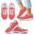 Designs by MyUtopia Shout Out:Timey Wimey Dalek Terms Running Shoes,Kids White Sole / 11 CHILD (EU28) / Red,Running Shoes