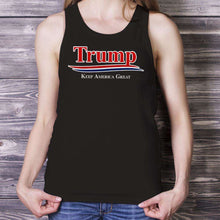 Load image into Gallery viewer, Designs by MyUtopia Shout Out:Trump Keep America Great v2 Unisex Tank