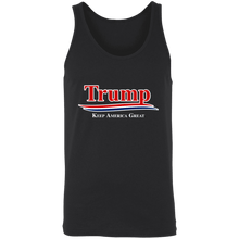 Load image into Gallery viewer, Designs by MyUtopia Shout Out:Trump Keep America Great v2 Unisex Tank,X-Small / Black,Tank Tops