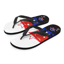 Load image into Gallery viewer, Designs by MyUtopia Shout Out:Washington Veteran Flip-Flops