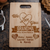 Designs by MyUtopia Shout Out:We Love You With All Our Hearts Personalized With Names Engraved Maple Cutting Board