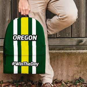 Designs by MyUtopia Shout Out:#WinTheDay Oregon Backpack