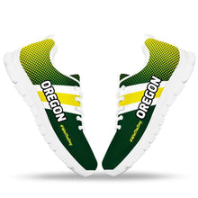 Load image into Gallery viewer, Designs by MyUtopia Shout Out:#WinTheDay Oregon Fan Running Shoes
