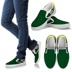 Designs by MyUtopia Shout Out:#WinTheDay Oregon Slip-on Shoes