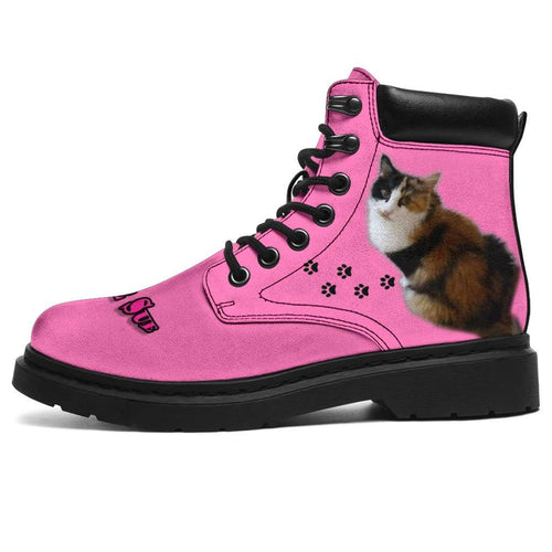 Designs by MyUtopia Shout Out:Your Pet Photo Here - All Season Boots