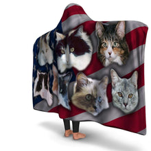 Load image into Gallery viewer, Designs by MyUtopia Shout Out:Your Pet Photos On A Hooded Blanket