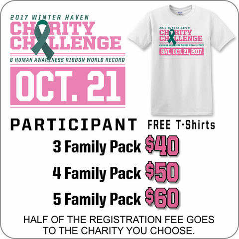 Winter Haven Charity Challenge FAMILY Participation