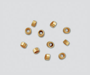 Crimp Tube 2 x 1 mm Gold Fill