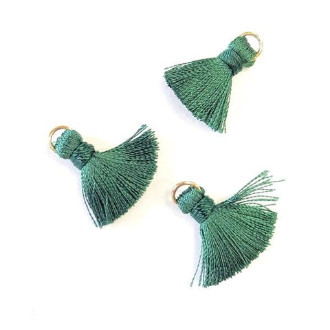 Tassel 20 mm Dark Green