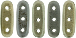 3 Hole Beam Matte Metallic Leather 3/10mm