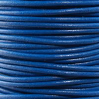 Leather Cord #006 Blue Assorted