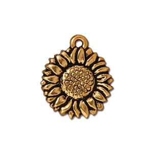 Sunflower Charm Assorted Finishes