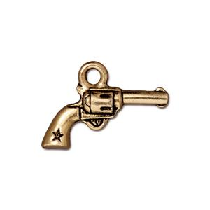 Six Shooter Charm Assorted Finishes