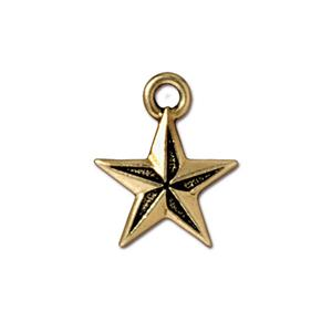Nautical Star Charm Assorted Finishes