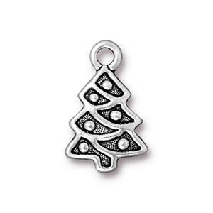 Christmas Tree Charm Assorted Finishes