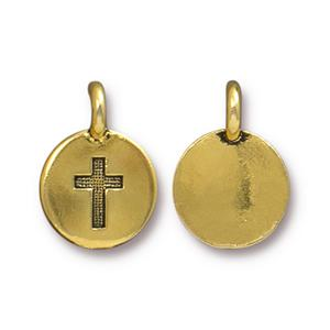 Cross Charm Assorted Finishes