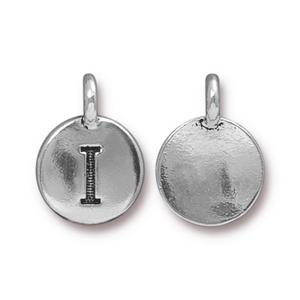 """I"" Charm Assorted Finishes"