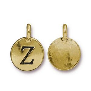 """Z"" Charm Assorted Finishes"