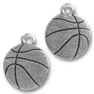 Basketball Charm Assorted Finishes