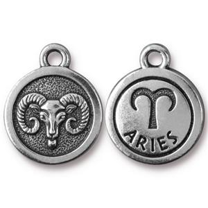 Aries Charm Assorted Finishes