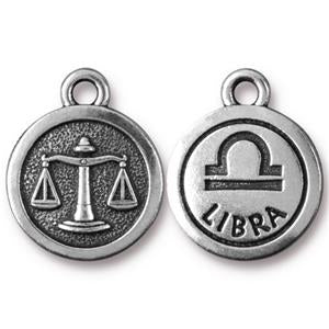 Libra Charm Assorted Finishes