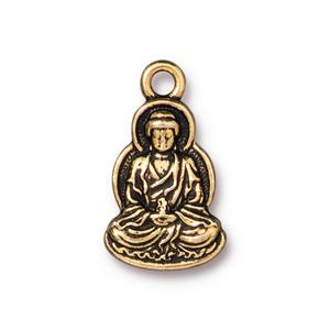 Buddha Charm Assorted Finishes