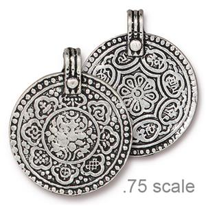 8 Fold Path Pendant Assorted Finishes