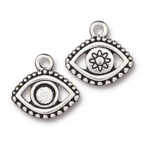Evil Eye Charm Assorted Finishes