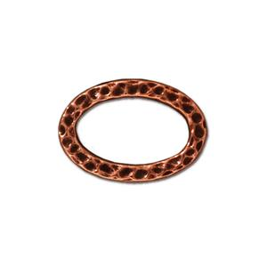 Oval Ring Link Assorted Finishes