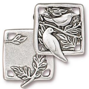 Botanical Birds Link Assorted Finishes