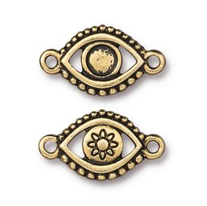 Evil Eye Link Assorted Finishes