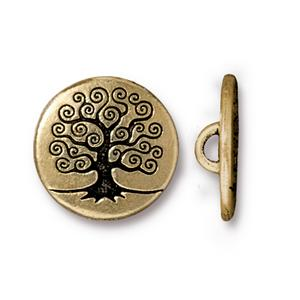 Tree of Life Buttons Assorted Finishes