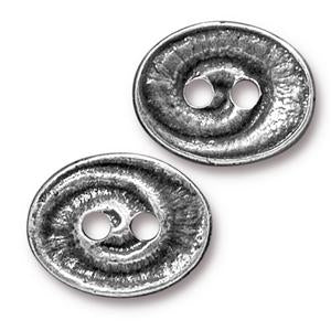 Swirl Buttons Assorted Finishes