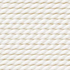 Griffin Silk Cord White Assorted Size