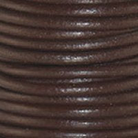 Leather Cord #003C Chocolate Assorted