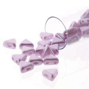 2 HOLE TRIANGLE KHEOPS PASTEL LIGHT LILAC/ROSE