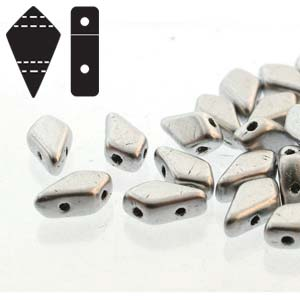KITE BEADS BRONZE ALUMINUM
