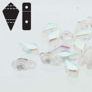 KITE BEADS CRYSTAL AB