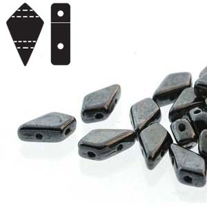 KITE BEADS JET GUNMETAL