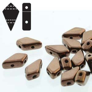 KITE BEADS JET DARK BRONZE