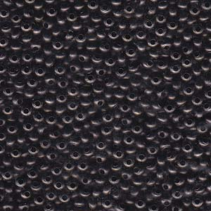 Heavy Metal Seed Beads Gunmetal