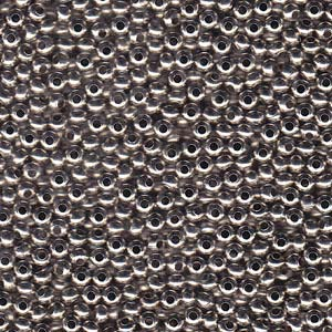 Heavy Metal Seed Beads Nickel Plated Brass