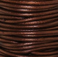 Leather Cord #051 Metallic Tamba Assorted