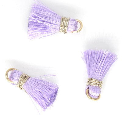 Tassel 20 mm Lt Purple OLO