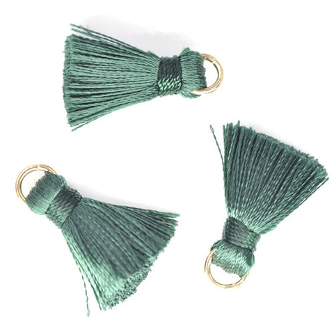 Tassel 20 mm Green